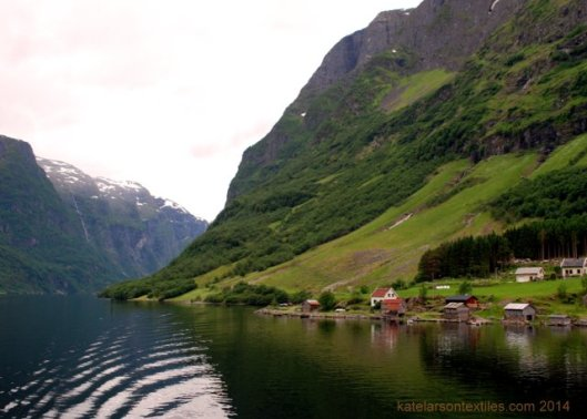 My first fjord. Flam, Norway.