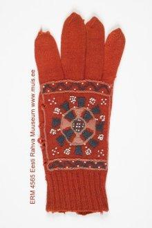 Kinnas, sõrmkinnas (gloves), ERM 4565 Eesti Rahva Muuseum, http://www.muis.ee/en_GB/museaalview/562130